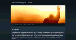 Preview of crossroadsbaptistchurch.org